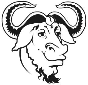 le logo GNU